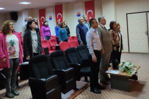 Yüksekokul öğrencilerimize Erasmus, Mevlana ve Farabi değişim programları hakkında bilgiler verildi.