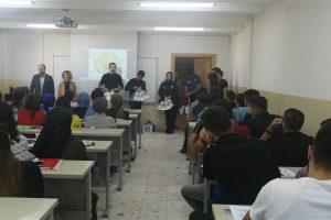 İlçe Emniyet Müdürlüğünden öğrencilerimize ziyaret
